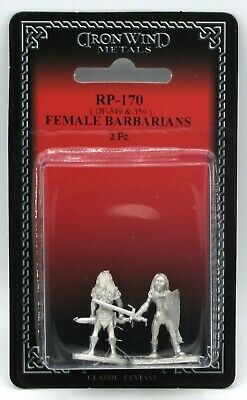 Ral Partha RP-170 Female Barbarians (Player Characters) Amazon Warrior Heroine
