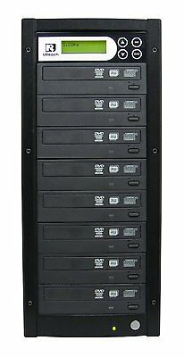 U-Reach 1-7 Target Blu Ray/ CD/DVD Copier Duplicator Tower- inc 1TB HDD