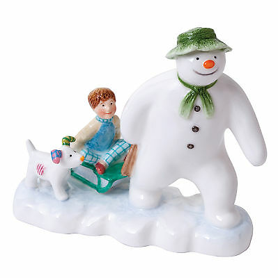 "Beswick Snowman Collectables -Snowman, Billy & Snow Dog  - Height 6"" (JBS7)"