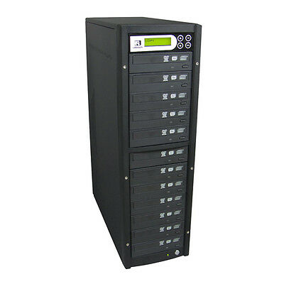 U-Reach 1-11 Target CD DVD Copier Duplicator Tower with  Latest Drives