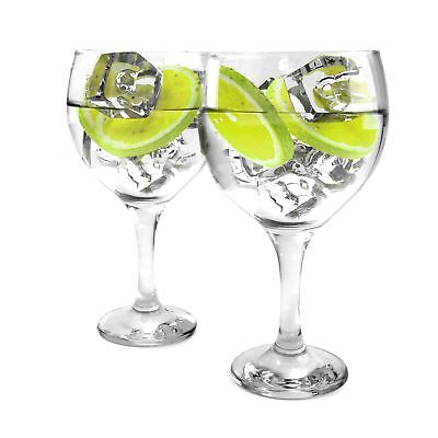 Tuff-Luv Set of 2 Gin Balloon Glasses 22oz (645ml) Cocktail / Celebration / G&T