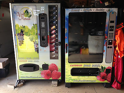 2 Drink Vending Machines!  MUST GO ASAP!!!!!!