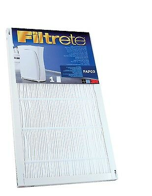 Filtrete FAPF03 Ultra Clean Large Air Purifier Replacement Filter - For Filtr...