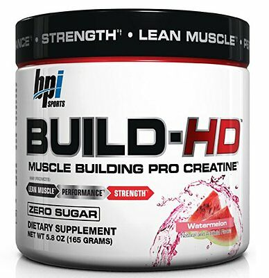 BPI Sports Build-HD Watermelon - Muscle Building Creatine (Best by 04/2017)