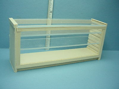 "Miniature Store Counter-Plexi Top & Front 1"" Scale #580 M & M Spec."