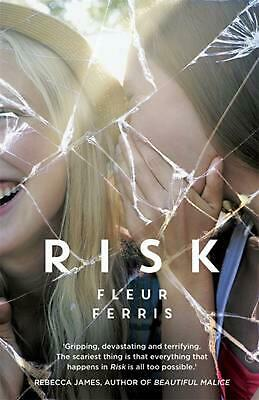 Risk by Fleur Ferris Paperback Book Free Shipping!