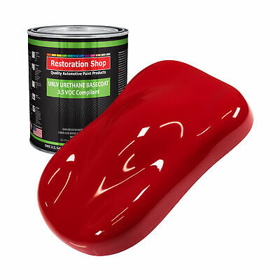 Viper Red 1 Gallon Low VOC URETHANE BASECOAT Car Auto Body Paint