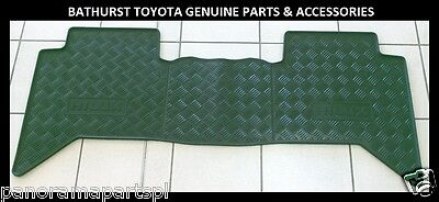 Toyota Hilux Rubber Floor Mats Front & Rear New Toyota 2005-Jun 2015 Dual Cab