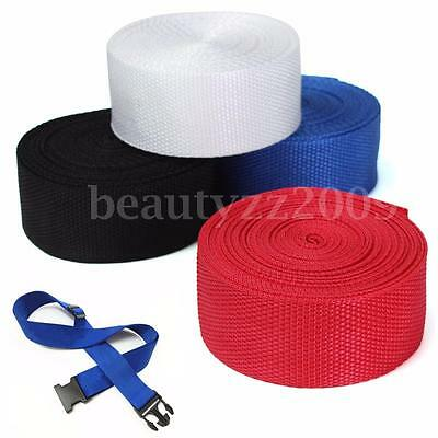 35mmx5m Nylon Webbing Tape For Making DIY Craft Backpack Strapping Apron Bunting