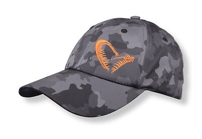 Savage Gear Black Baseball Cap Hat Camo Vented One-Size Carp Match Fishing