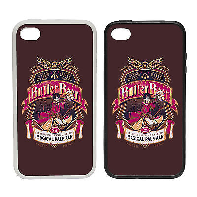 Butter Beer  -Rubber and Plastic Phone Cover Case- Harry Potter Inspired Magic