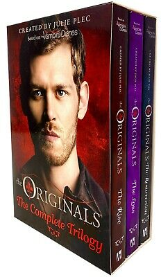 Julie Plec The Originals Trilogy 3 Books Collection Set Rise, Resurrection, Loss
