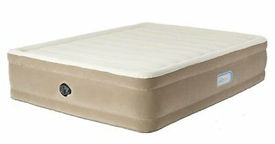 Aerobed Comfort Raised King Size Inflatable Guest Air Bed with Flocked Surface -