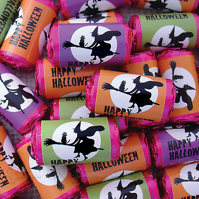 Halloween Wicked Witch Trick Or Treat Mini Love Hearts Sweets Party Favour 25-50