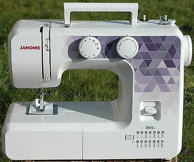 Janome 2015a Sewing Machine Brand New 2 Year Warranty Free  Express Delivery