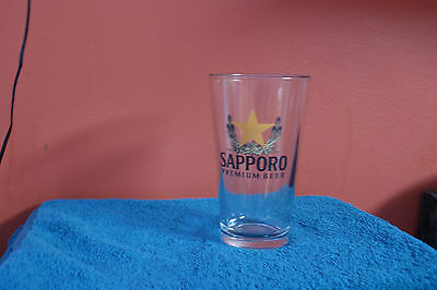 one Sapporo Beer Glass Premium  since 1876