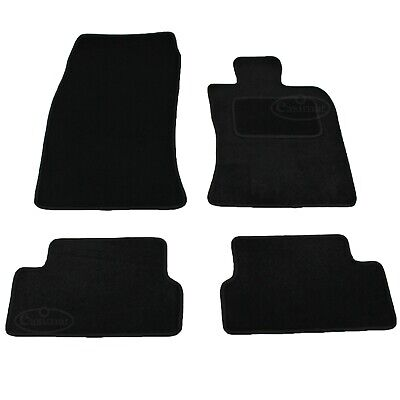 BMW Mini One Cooper Mk 2 Tailored Carpet Car Mats 2007-2013 Black 4pc Floor Set