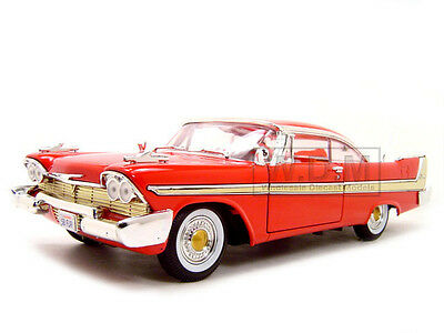 1958 Plymouth Fury Red 1:18 Diecast Model Car By Motormax 73115
