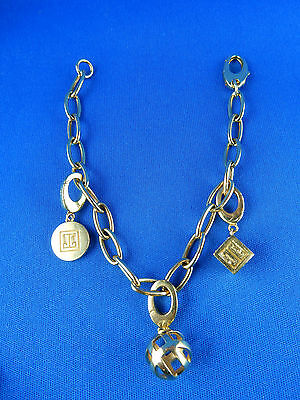 750/GOLD JETTE JOOP CHARM ARMBAND 19cm 23,7 g.
