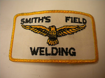 Vintage Smith's Field Welding Embroidery Patch