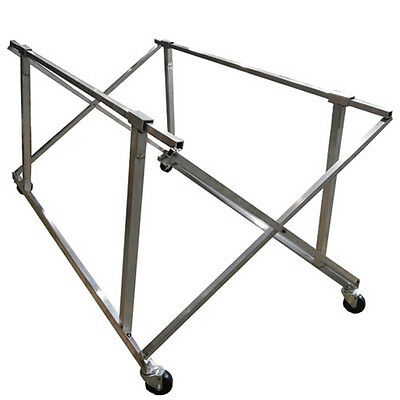 Truck Bed Dolly 350 lb Capacity Aluminum with Wheels Folds for Storage Champ