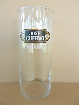 Jose Cuervo 190 Anos Tequilla Tall Glass