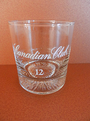 Canadian Club Classic 12 Year Whiskey Glass