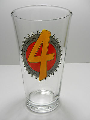 Real Ale Brewing Company Firemans No. 4 Pint Beer Glass Blanco Texas