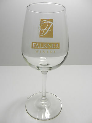 Falkner Winery Stemmed Wine Glass Temecula California