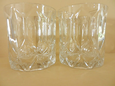 Pair of Crown Royal Whiskey Glasses Set of Two