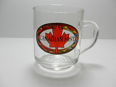 Canadian Mist Cocktail Whiskey Glass Mug Canada