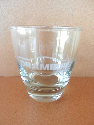 Drambuie Scottish Liqueur Etched Glass