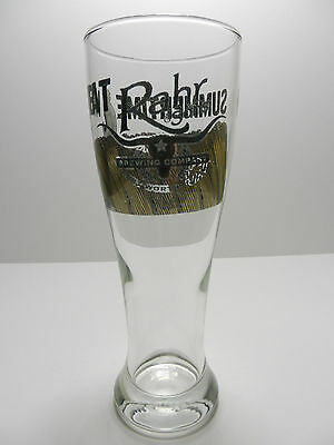 Rahr & Sons Brewing Company Summertime Wheat  16 oz. Beer Glass Fort Worth TX