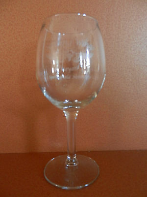 Soaring Wings Vineyard Stemmed Wine Glass Etched Springfield Nebraska