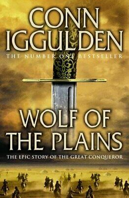 Wolf of the Plains (Conqueror, Book 1) by Iggulden, Conn Paperback Book The