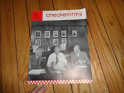 June July 1955 Checkerlinks Magazine Ralston Purina Company St. Louis
