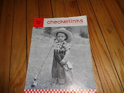 March 1958 Checkerlinks Magazine Ralston Purina Company St. Louis