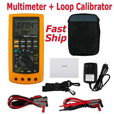 New YHS-787 Digital Process Calibration Calibrator Multimeter Tester Fast Ship