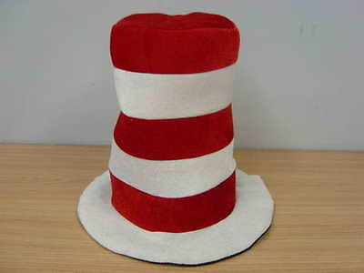 Dr Seuss Cat In The Hat Adult Size Costume Hat Party Fancy Dress Birthday Adults