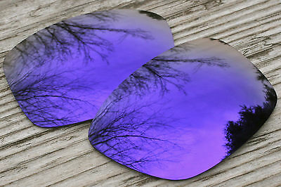 Mirrored Purple Polarized Replacement Sunglass Lenses for Oakley Jupiter Squared