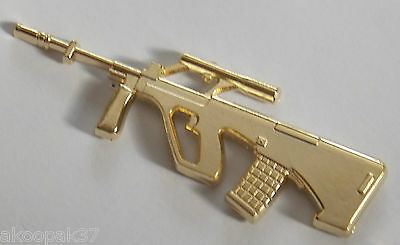 Styer F88 5.56Mm Rifle Gold Plated 60Mm Long With Two Pins
