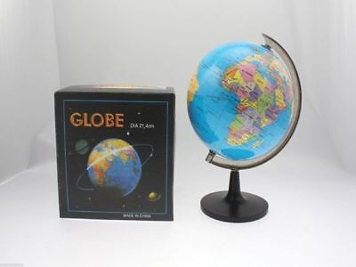 6 x World Spining globe on stand political