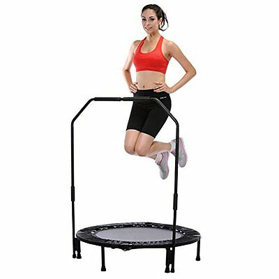 """Sunny Health & Fitness 40"""" Foldable Trampoline with Bar New High Quality Product"""