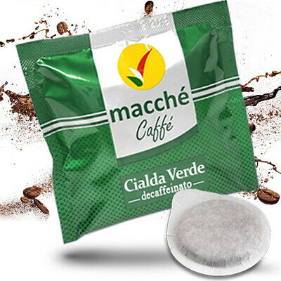 200 Cialde Filtro In Carta Macche' Caffe' Decaffeinato Dek Originali Break Shop