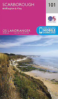 Scarborough Bridlington & Filey Landranger Map 101 Ordnance Survey 2016