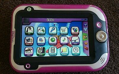 """LIKE NEW"" LeapFrog LeapPad ULTRA Green Tablet Leap Frog Leap Pad SKIN COVER"