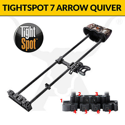 TightSpot ARCHERY Arrow Quiver! THE BEST BOW QUIVERS!!!!