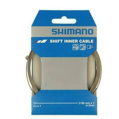 Shimano PTFE Coated Gear Shift Inner Stainless Steel Wire 1.2 x 2100mm MTB Road