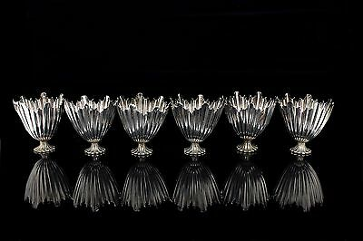 Antique Original Ottoman Amazing Silver  6 Pieces Cup Set