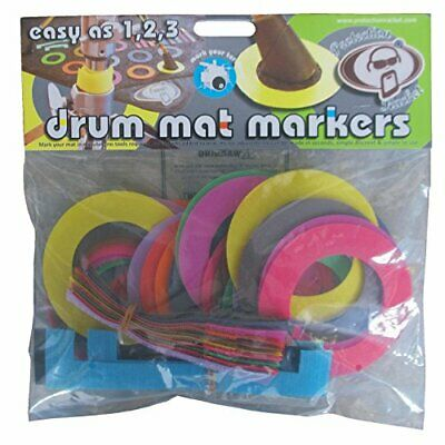 Protection Racket Drum Kit Mat Markers Coloured 9022-00